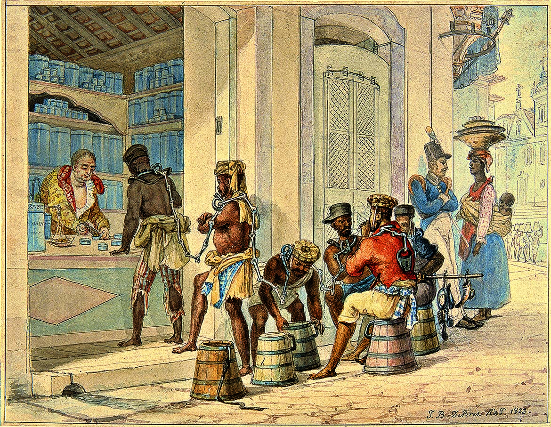 História da Hipnose no Brasil - Loja de Tabaco no Rio de Janeiro em 1823