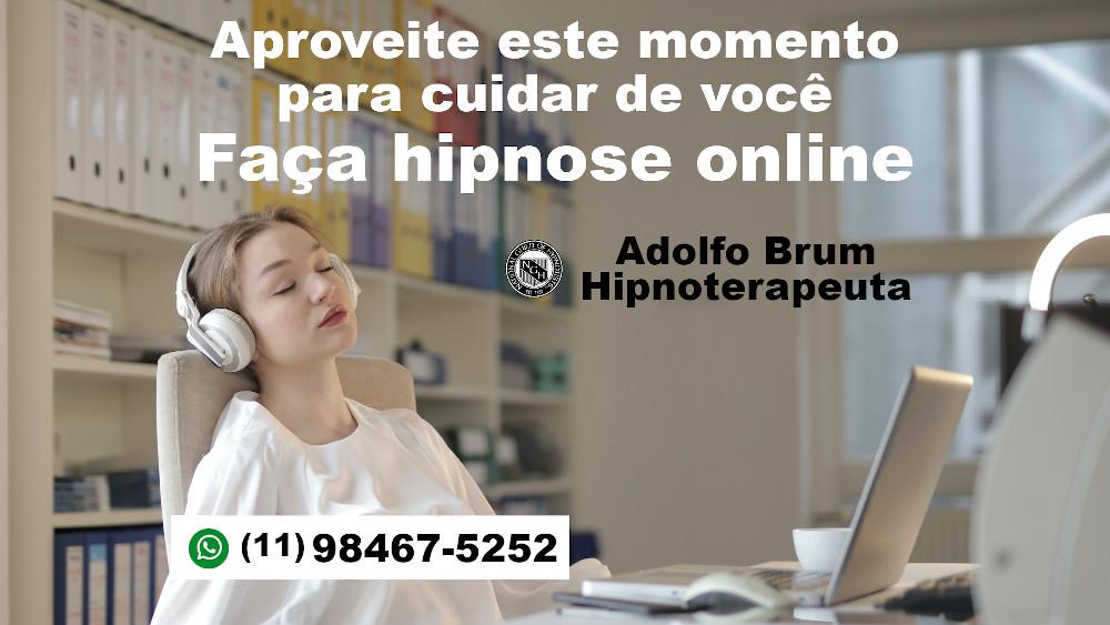 Aproveite este momento para fazer hipnose online.