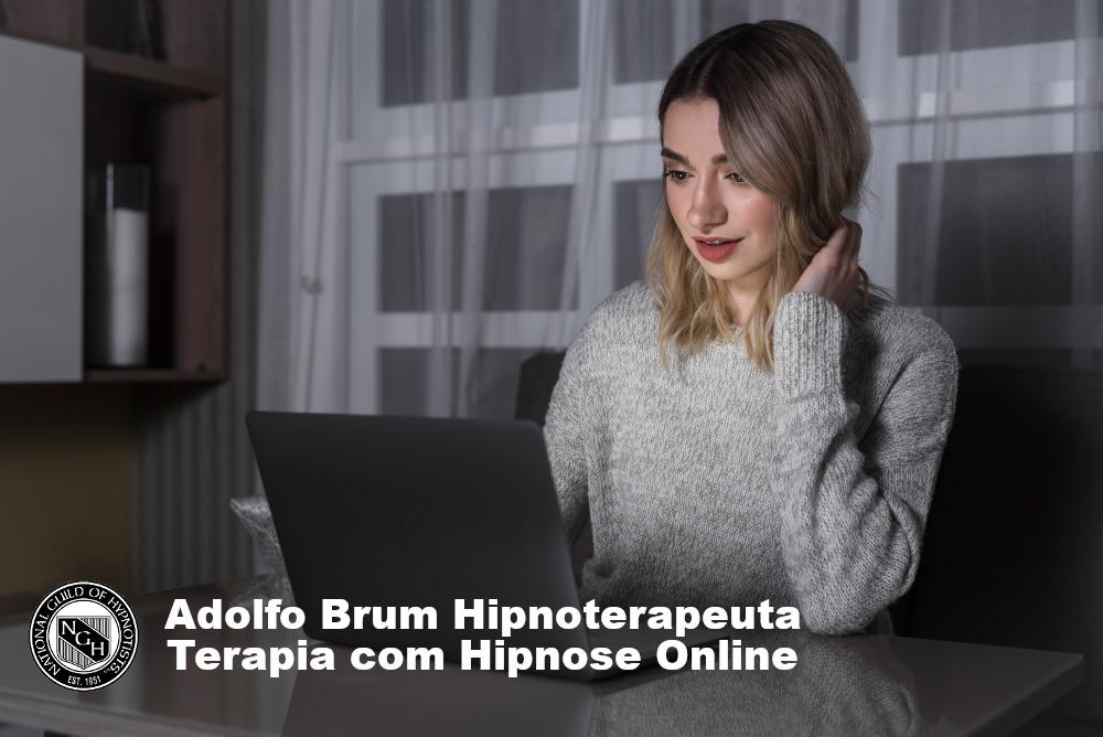 Terapia online com hipnose no conforto de sua casa.