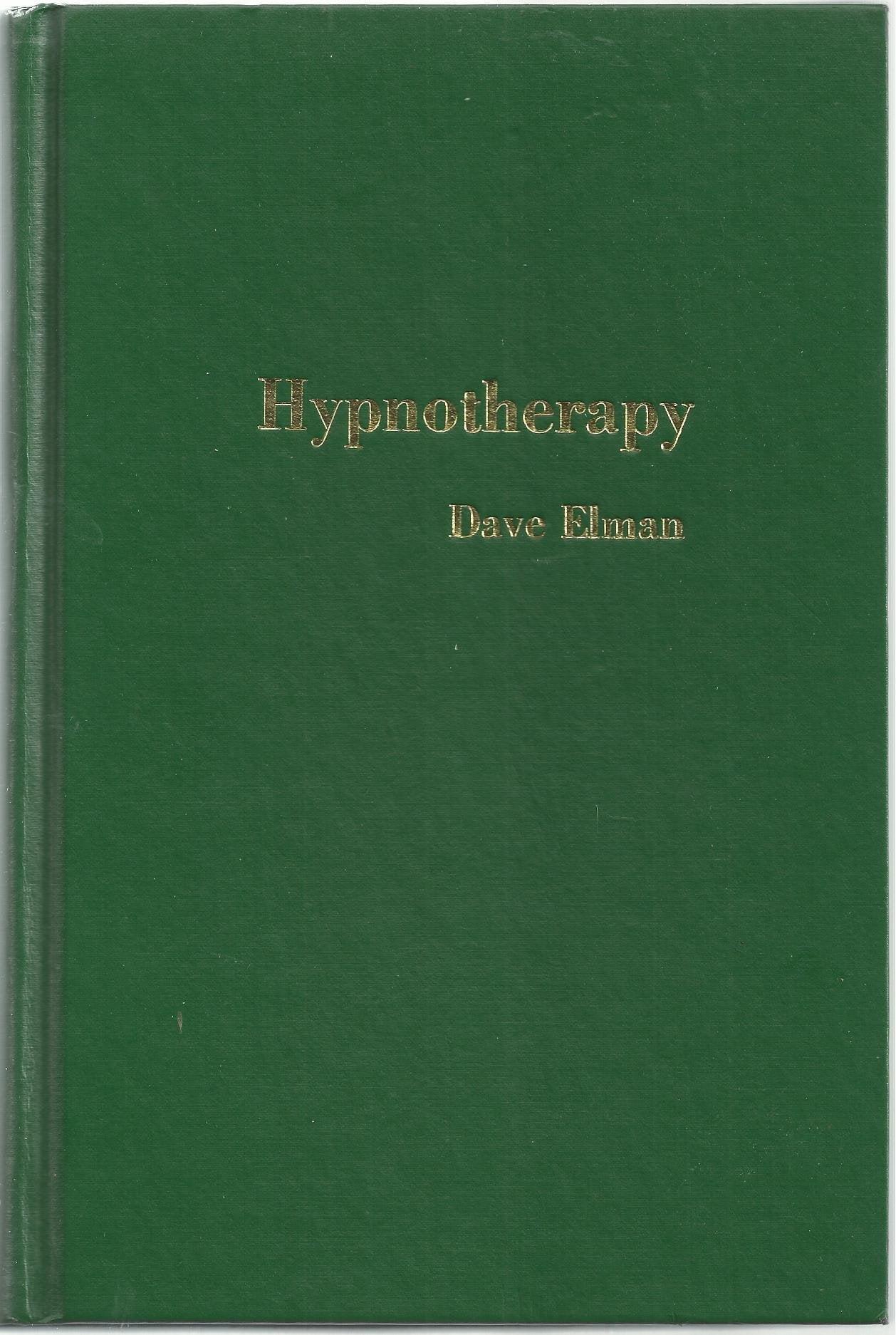 Dave Elman publicou apenas um livro intitulado Hypnotherapy.