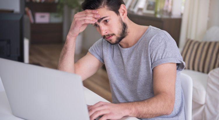 Ansiedade e burnout no home office.